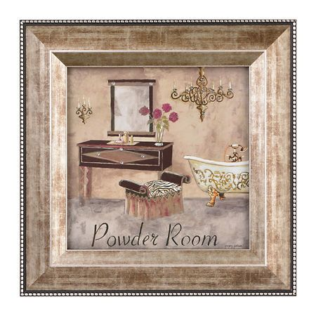 salle de bain i framed art print