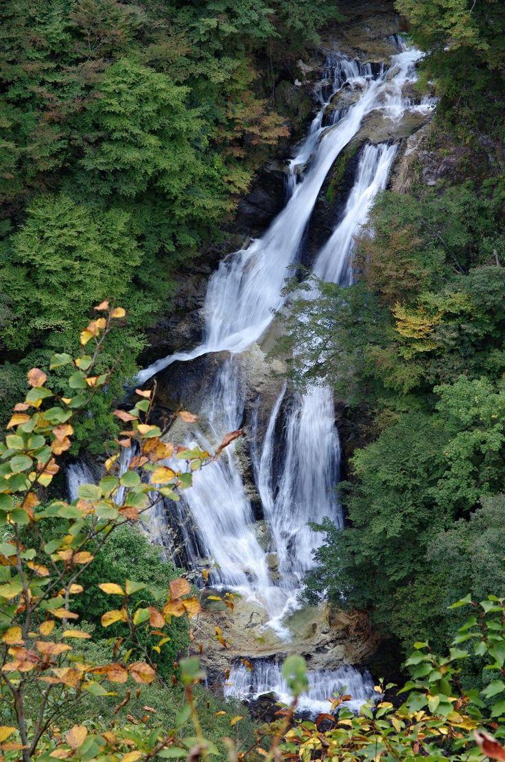 Kirufuru Falls in Nikko National Park