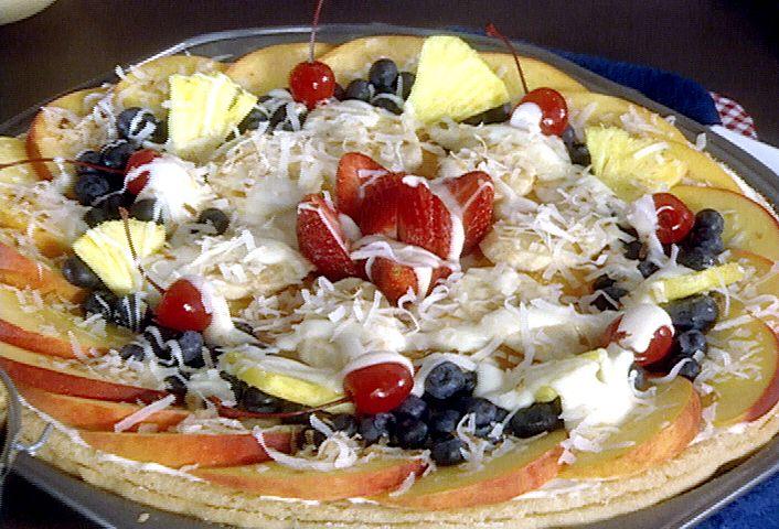 Fresh Fruit Pizza Recipe