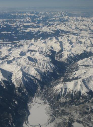 paisaje montaña nieve Juan Zepeda Méndez