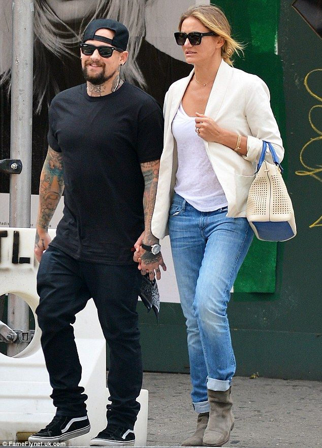 Just married: Cameron Diaz wed Benji Madden on Monday evening, her rep confirmed to People
