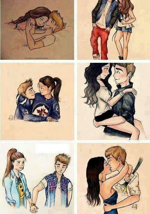 Pin by Amira on Love | Cute drawings tumblr, Cute couple ...