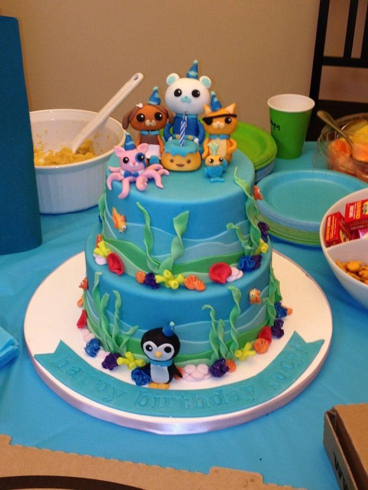 22 best octonauts images on Pinterest Birthday cakes 5th