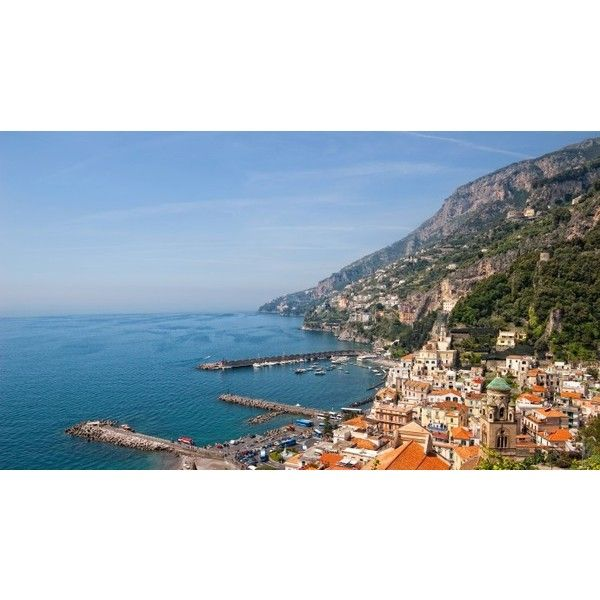 Italian Coastal Cruise ❤ liked on Polyvore featuring backgrounds