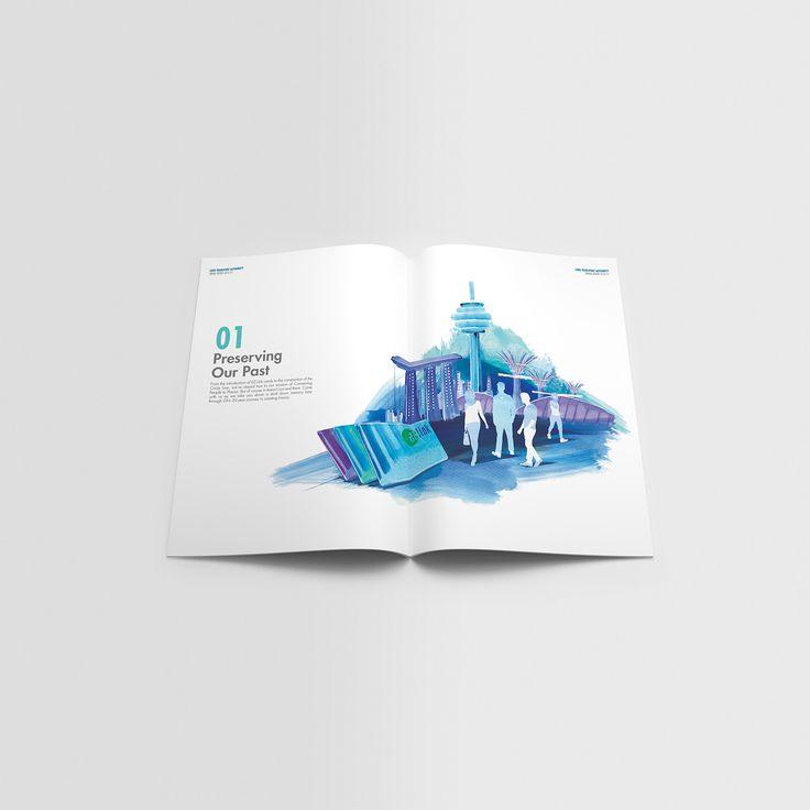 LTA Singapore Annual Report Pitch on Behance