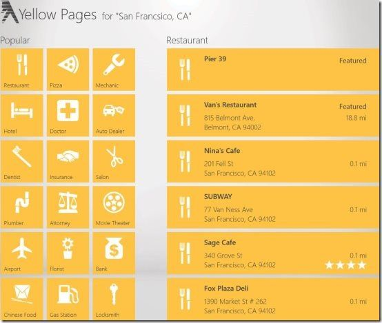 Yellow Pages has been the pioneer when it comes to local searching. Description from ilovefreesoftware.com. I searched for this on bing.com/images