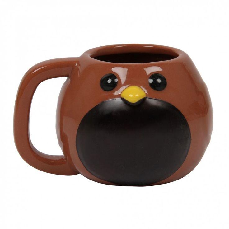 Robin heat change mug
