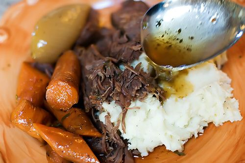 Pot roast by Ree Drummond / The Pioneer Woman,   Going to be making this soon! :)