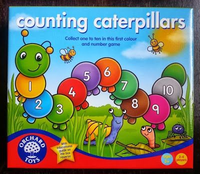 The Brick Castle: Counting Caterpillars Game From Orchard Toys