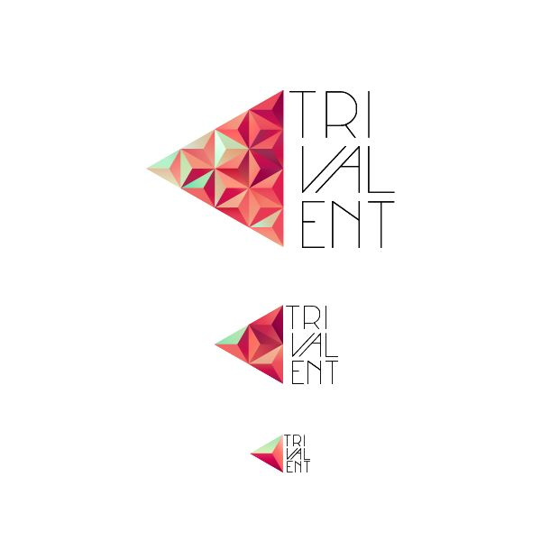 Trivalent Brand Identity by Nina Georgieva, via Behance