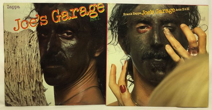 Frank Zappa - Joe's Garage Acts I, II and III Box Set Barking Pumpkin Label LP