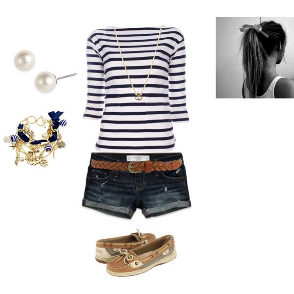 nautical love, created by amf629 on Polyvore
