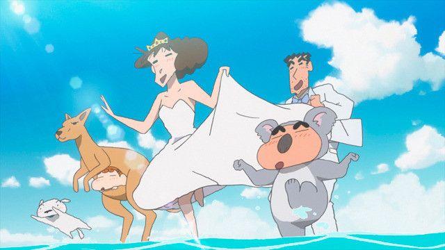 crayon shin chan honeymoon hurricane the lost hiroshi 2019 crayon shin chan cute cartoon drawings anime backgrounds wallpapers