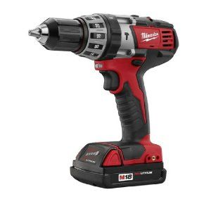 Bare-Tool Milwaukee 2602-20 M18 18-Volt Cordless 1/2-Inch Hammer Drill/Driver (Tool Only, No Battery),$84.99