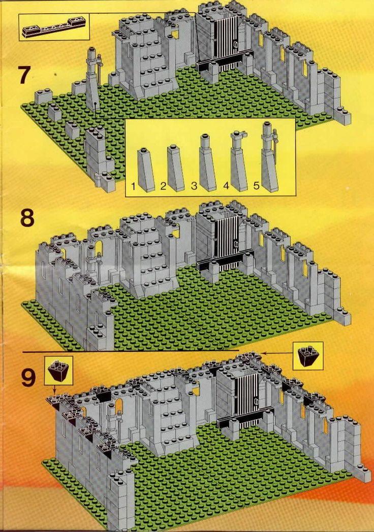 361 Best Lego Instructions Images On Pinterest Lego Building Lego