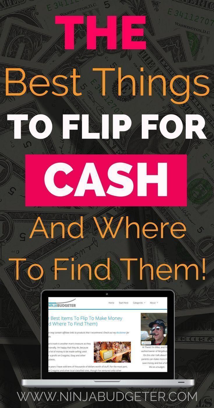 Möchten Sie wissen, was die besten Dinge sind, um Geld zu verdienen? Flip Seite hu …   – Making Money
