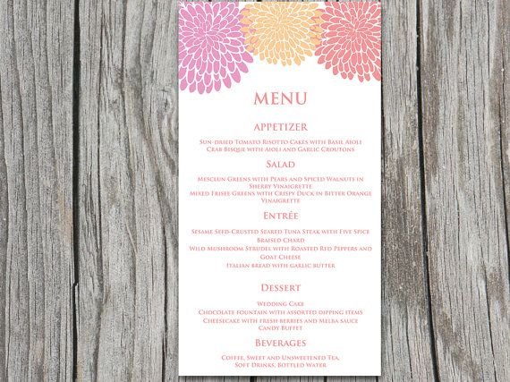 77 best Spring Wedding images on Pinterest | Floral invitation ...