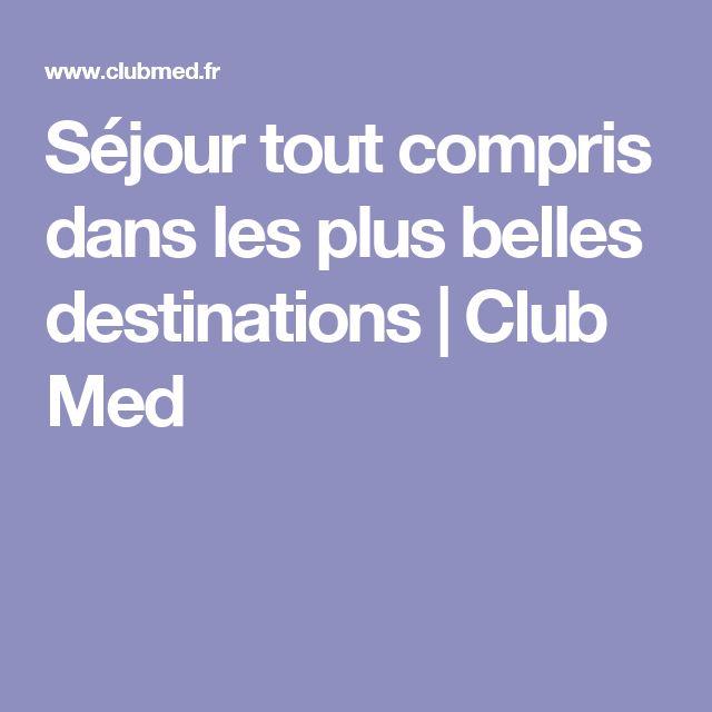 Séjour tout compris dans les plus belles destinations | Club Med