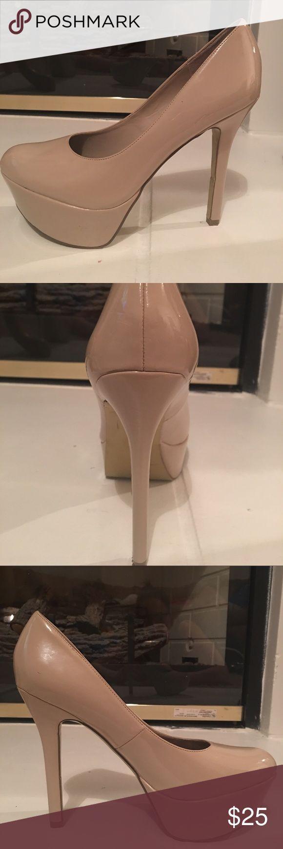 Carlos Santana tan heels. Carlos Santana tan heels. Size 8. Worn but taken great care of. Size 8. Heel 5 inch. Carlos Santana Shoes Heels