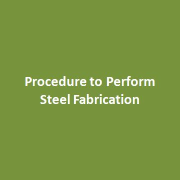 Steel fabrication is a procedure involves cutting, shaping or moulding steel to form a final product. Steel in the form of metal rods, bars with distinct material and dimensional specifications are used in forming steel products. This process of fabrication results in finished steel in different thickness, length and breadth.