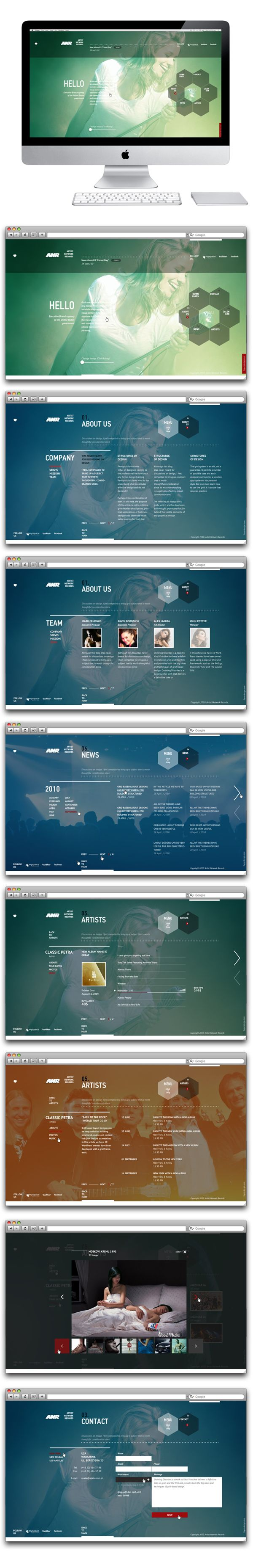 Colorful user interface for ANR by Sergei Gurov.