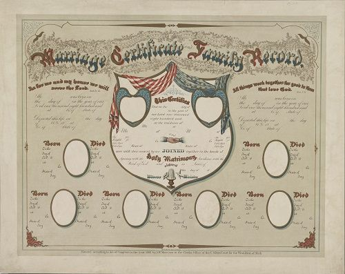 234 best marriage cert images on Pinterest Etchings, Picture - copy free fake marriage certificate