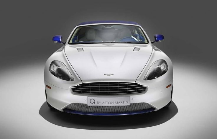 Q por Aston Martin presenta una sola vez DB9 Volante Mañana Escarcha