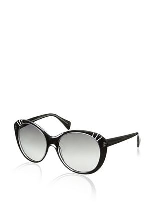 Alexander McQueen Women's 4230/S Sunglasses, Black
