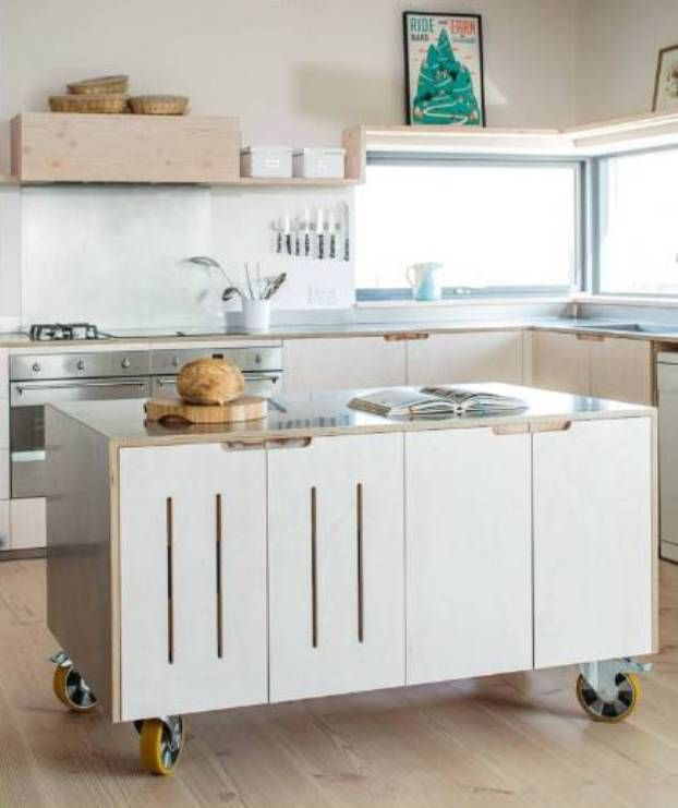 Movable Kitchen Island Designs: 25+ Best Ideas About Mobile Kitchen Island On Pinterest