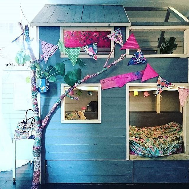 Are you kidding me? YES!!! turning ikea kura into a a good looking house with a tree is also possible