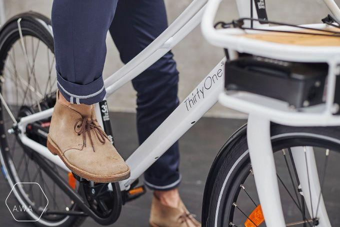 Reflective cuffs #functionalfashion #cyclechic #bikecommuters #madeinfrance