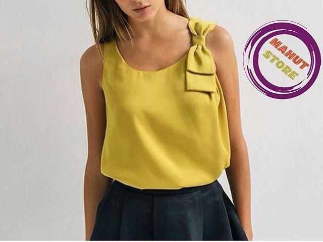 Reposting @mahutstore: Lo nuevo de Mahut un estilo moderno blusas en color mostaza Talla S, M, L y XL ☎️ 320 2462922 #belleza #fashionista #instagood #outfit #medellin #chic #estilo #507 #tendencia #chicas #calidad #ropa #blusas #ropacasual #bella #moderna #marcas #granturismo #ibague #store #desing #tolima #instafollow #followme #like4like