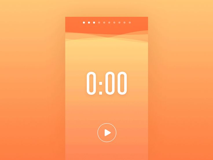 Liquid Pomodoro Timer by Dmitry Kurash