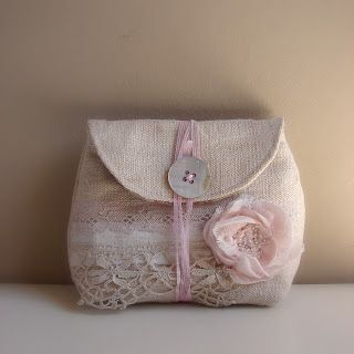 linen pouch