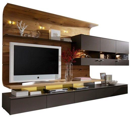 Diese Wohnwand Von MODERANO Sorgt Für Eine Frische Und Zeitgemäße Note In  Ihrem Wohnzimmer! Modernität Steht Bei Diesem Möbelset Im Vordergrund: Die  ...