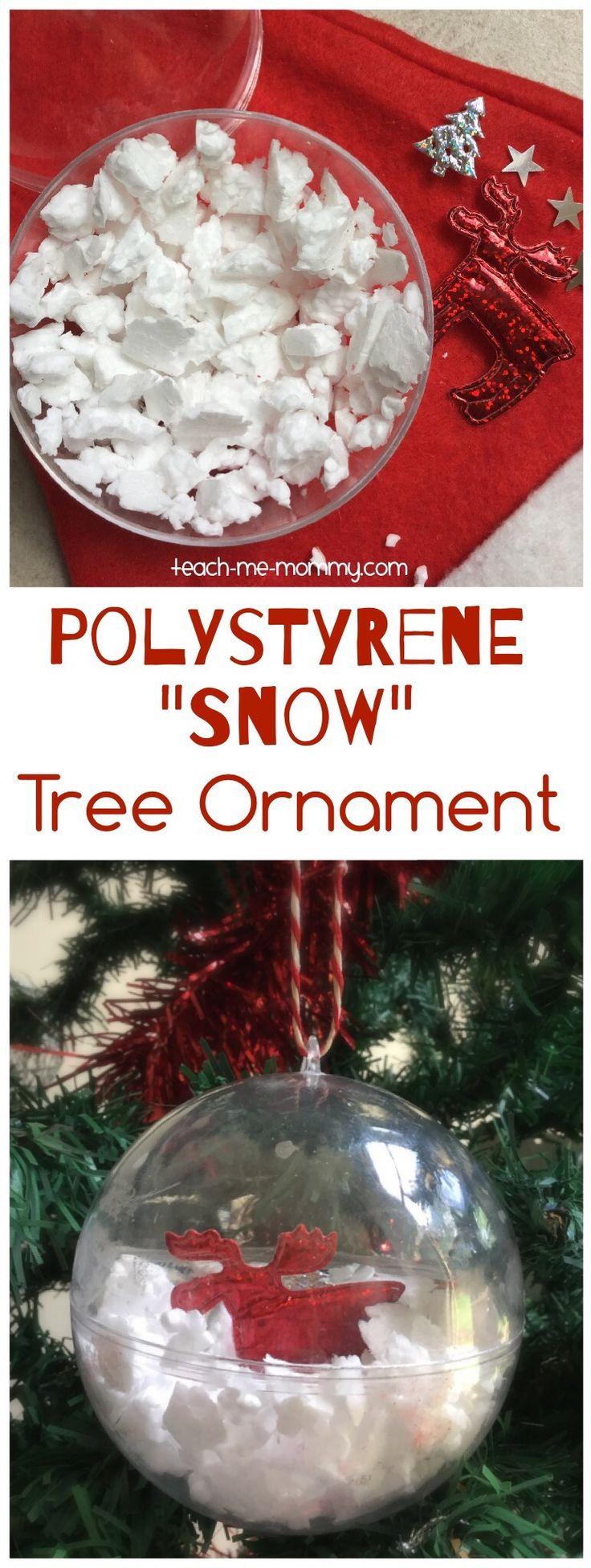 Polystyrene Snow Ornament 907 best Kid Made Christmas