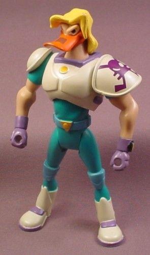 """nosedive mighty ducks   Mighty Ducks Weapons Expert Nosedive Action Figure, 6 """" , 1996 Mattel ..."""