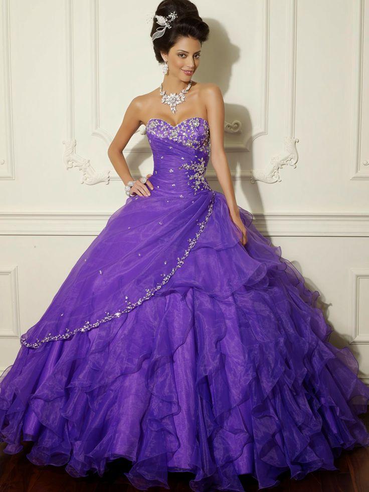 Mejores 101 imágenes de Dulces 15 en Pinterest | Vestidos de novia ...