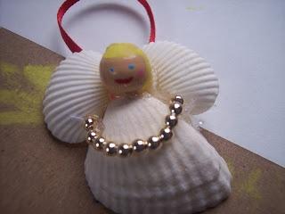 See Katie Sew: Seashell Angel Ornament Tutorial