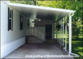 mobile home parts store.com attached carport