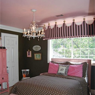 Found This Online When Looking At Houses Gorgeous Pink And Brown Girls Room