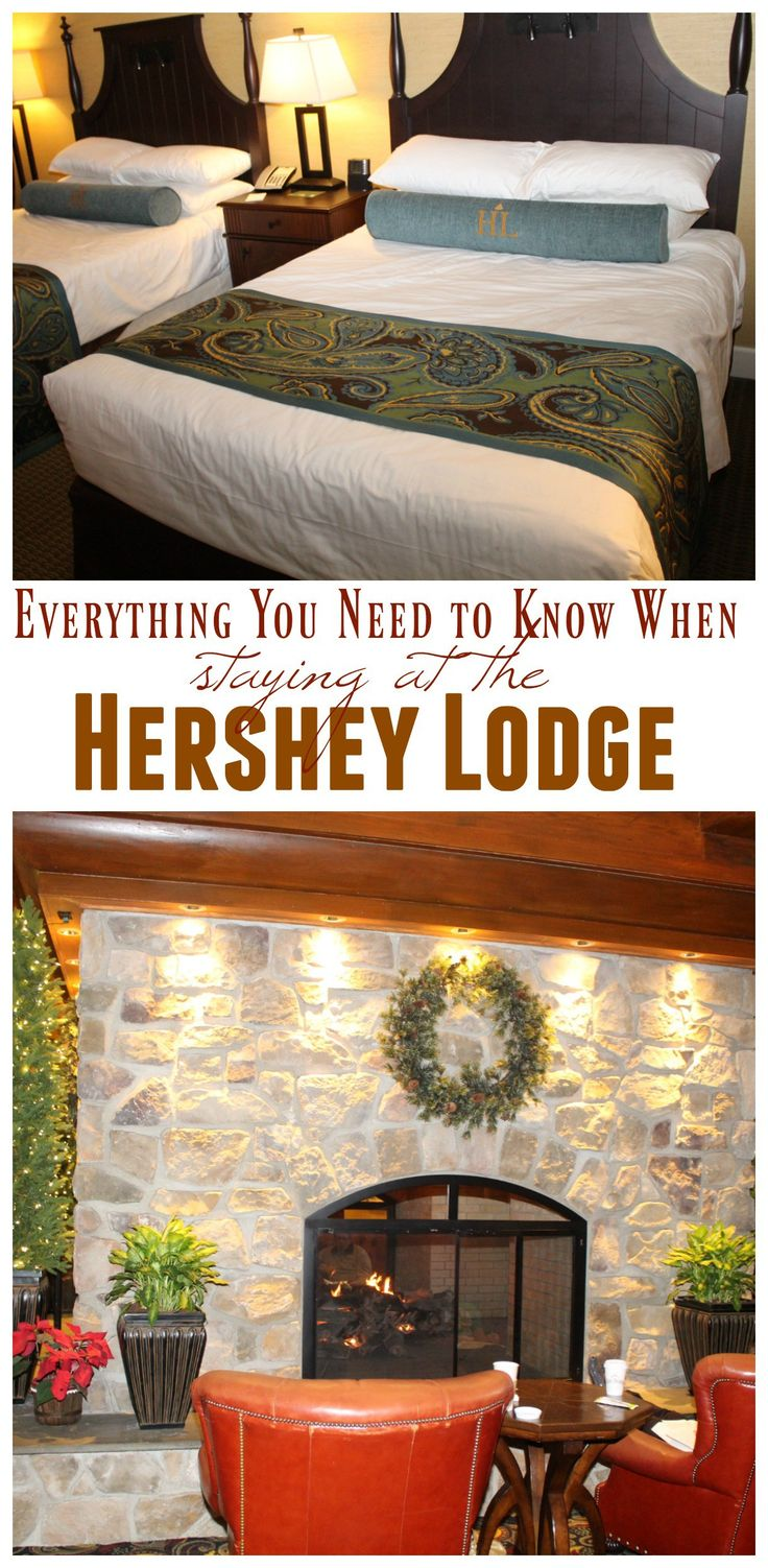 Everything you need to know when staying at the Hershey Lodge