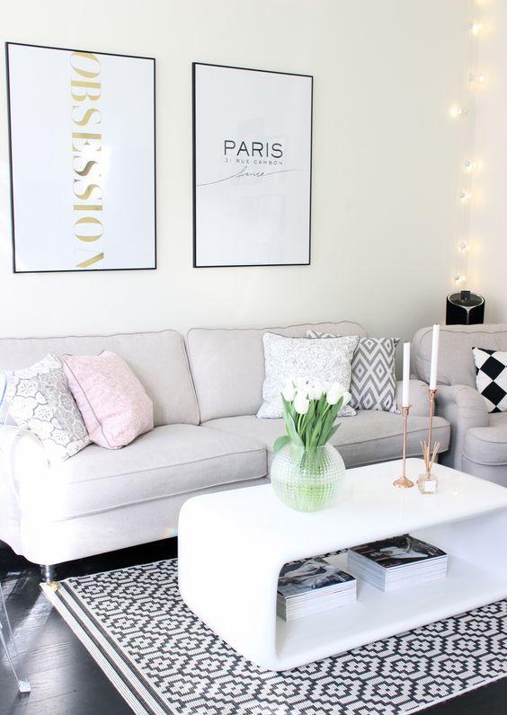 Die besten 25+ Rosa wohnzimmer Ideen auf Pinterest rosa - wohnzimmer ideen ikea