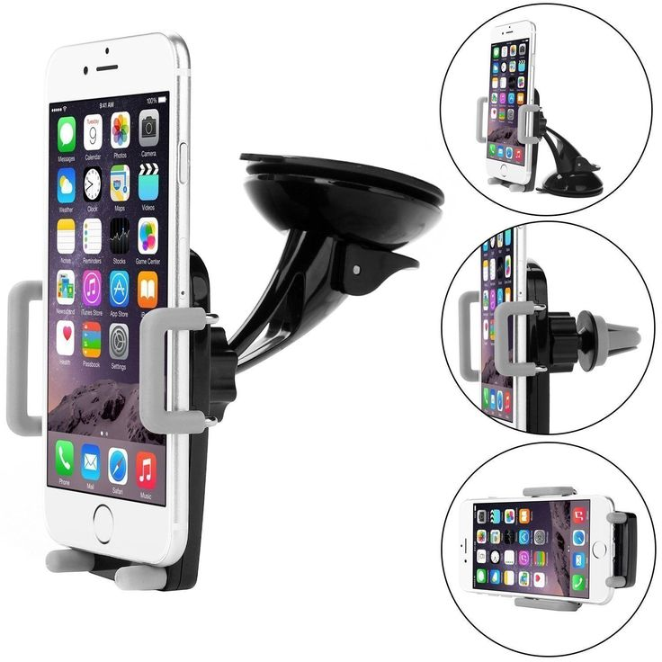 Car #mount air vent holder cradle for #iphone #samsung universal cell phone 3 in ,  View more on the LINK: 	http://www.zeppy.io/product/gb/2/322321605206/