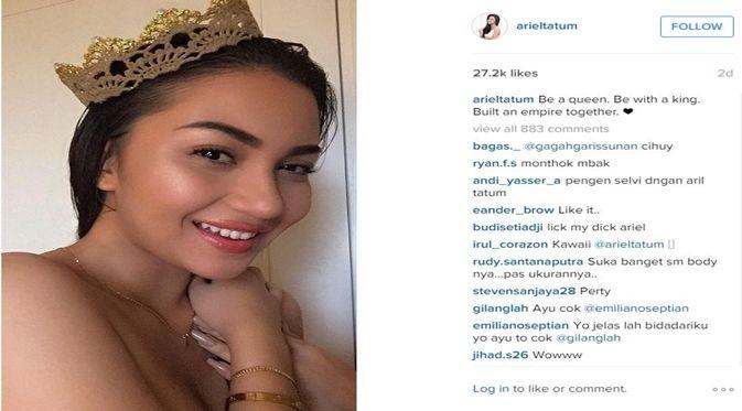 Akun Instagram Ariel Tatum
