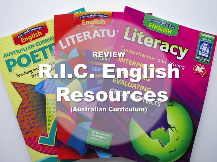 Review of Australian Curriculum Literacy, Literature and Poetry by Miss Galvin Learns.