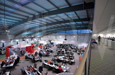 vodafone call centre stoke overall interior view interconnected workplaces pinterest call. Black Bedroom Furniture Sets. Home Design Ideas
