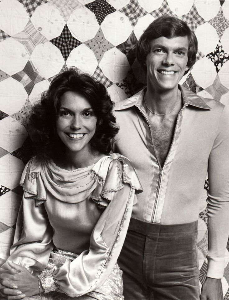 The Carpenters ... in my teens I couldn't appreciate the simple sincerity of their music ... now Karen's voice melts my heart