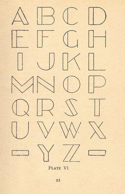 Architect letters