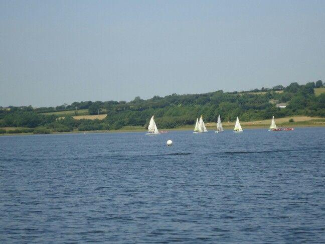 Sailing club Roadford lake